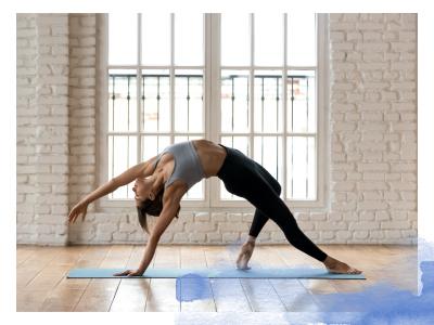 Yoga Frau Asana Wild Thing